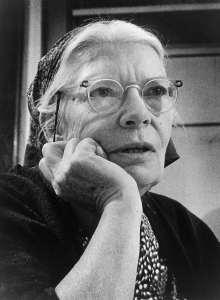 Dorothy Day, co-founder of the Catholic Worker movement, spent her adult life as an advocate for the poor and the rights of workers. (CNS/courtesy Milwaukee Journal Sentinel)