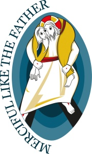 Official logo for the Holy Year of Mercy. (CNS/courtesy Pontifical Council for Promoting New Evangelization)