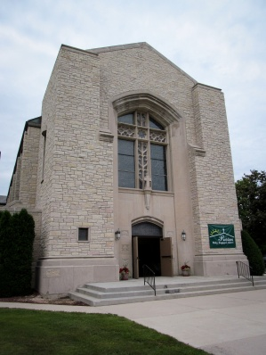 The Waldo worship site of St. Francis of Assisi Parish in Manitowoc, Wisconsin is one of three former parish churches now used by the single city-wide St. Francis. (CNS/Patricia Zapor)