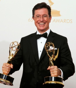 Stephen Colbert in a 2013 photo. (CNS/Reuters)