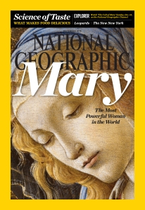 Cover of the December issue of National Geographic magazine. (CNS/National Geographic)