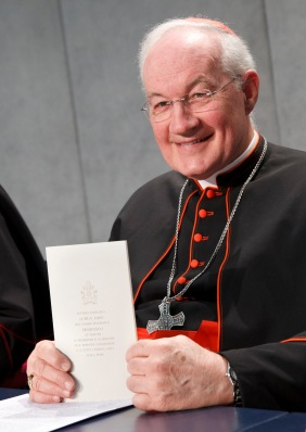 Cardinal Ouellet (CNS/Paul Haring)