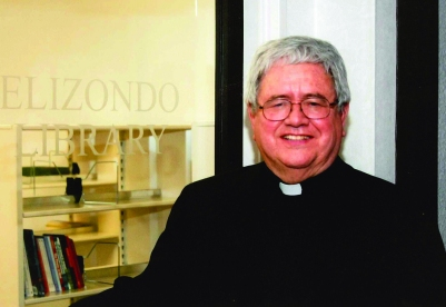 Father Virgilio Elizondo, a nationally known professor of pastoral and Hispanic theology at the University of Notre Dame, was found dead in his home March 14. (CNS/courtesy Archdiocese of San Antonio)