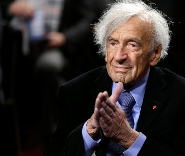 Nobel Laureate Elie Wiesel in a 2015 photo. (CNS/Reuters)