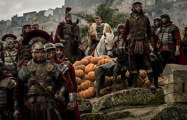 "Toby Kebbell and Pilou Asbaek star in a scene from the movie ""Ben Hur."" (CNS/Paramount Pictures and Metro-Goldwyn-Mayer Pictures Inc)"