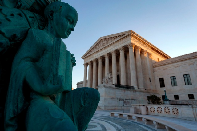 The U.S. Supreme Court building in Washington is seen in this 2014 file photo.(CNS/Jonathan Ernst, Reuters)
