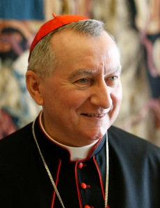 Cardinal Pietro Parolin, Vatican secretary of state, offered congratulations and prayers to Donald Trump. (CNS photo/Paul Haring)