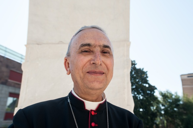 Italian Cardinal-designate Mario Zenari is pictured in a Sept. 29 photo. (CNS photo/Massimiliano Migliorato, Catholic Press Photo)
