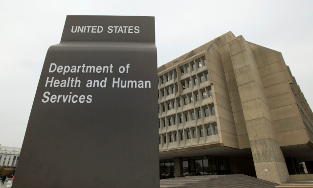 The headquarters of the U.S. Department of Health and Human Services in Washington. (CNS file/Nancy Wiechec)