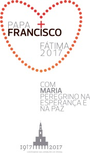 This is the logo for Pope Francis' May 12-13 visit to the Sanctuary of Our Lady of Fatima in Portugal for the celebration of the 100th anniversary of the Marian apparitions. (CNS)