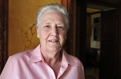 Marie Collins, a clerical sexual abuse survivor from Ireland, resigned as a member of the Pontifical Commission for the Protection of Minors. (CNS file/Carol Glatz)