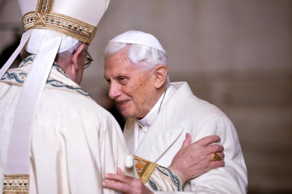 Birthday book: Scholars offer Pope Benedict traditional