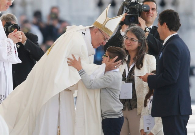 Image result for Pope Francisco goes on the way to the Sanctuary of the Lord Jesus of the Miracles of Lima