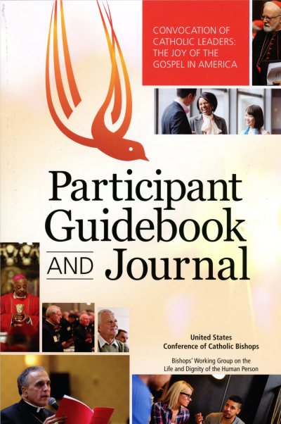 This combination guidebook and journal has been developed to help delegates prepare for the Convocation of Catholic Leaders in Orlando, Fla., set for July 1-4. (CNS)