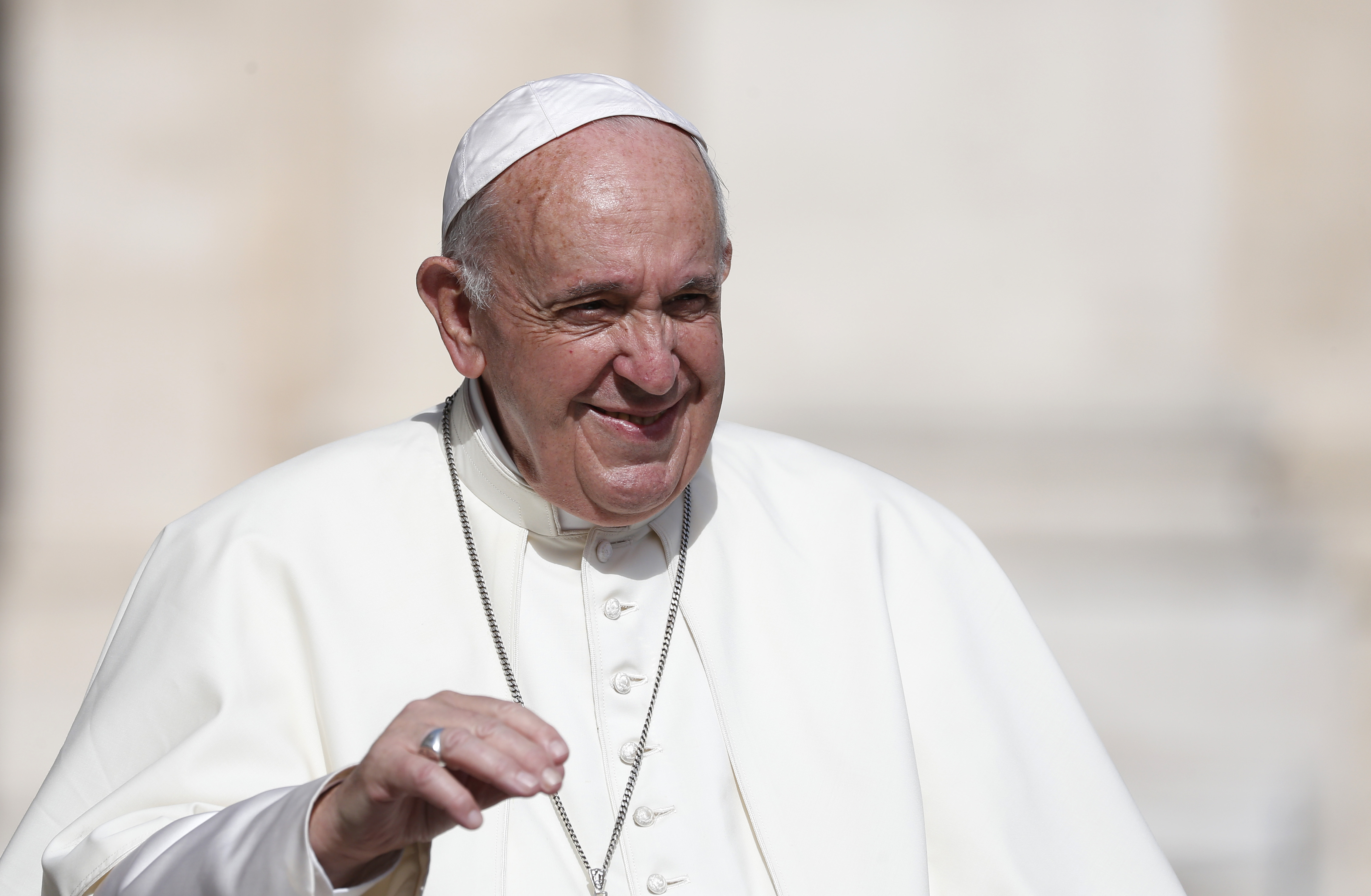 Unity is first sign of true Christian witness, pope says